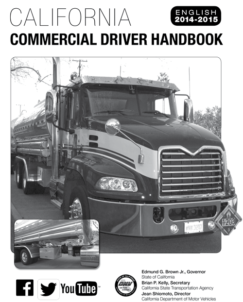 class b commercial drivers license california